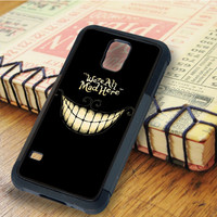 Cat Cheshire Cat Cheshire Were All Mad Here   For Samsung Galaxy S6 Cases   Free Shipping   AH0125