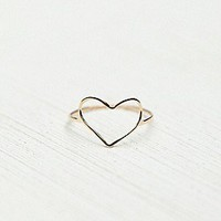 Bittersweet   Heart Ring at Free People Clothing Boutique