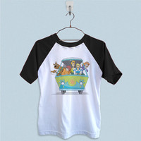 Raglan T-Shirt - Scooby Doo Mistery Machine