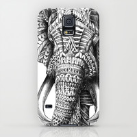 Ornate Elephant Galaxy S5 Case by BioWorkZ