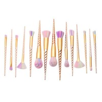 10Pcs Unicorn Makeup Brushes Set