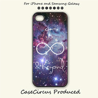 To infinite and beyond,iPhone 5 case, iPhone 5C Case, iPhone 5S , Phone case, iPhone 4S , Case,Samsung Galaxy S3, Samsung Galaxy S4