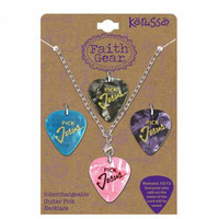 Interchangeable Guitar Pick Necklace