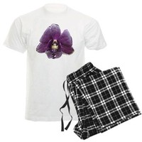 Men's Light Pajamas> THAILAND ORCHID ON DESIGN ON SHIRT AND OTHER> SELL2557