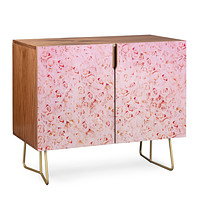 Leah Flores Bed Of Roses Credenza