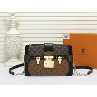 LV Louis Vuitton MONOGRAM CANVAS Trunk INCLINED SHOULDER BAG