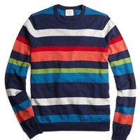 Men's Crewneck Color-Block Sweater