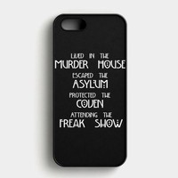 American Horror Story Cover iPhone SE Case
