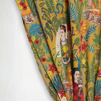 Boho Paint Me a Picture Window Curtain by Karma Living from ModCloth