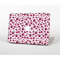 "The Red & White Paw Prints Skin Set for the Apple MacBook Pro 13""   (A1278)"