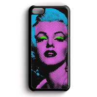 Marilyn Monroe Tattoo Floral iPhone 5C Case