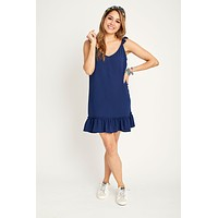 Jack by BB Dakota Shifted & Talented Crepe Shift Dress