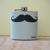 6 oz Stainless Steel Flask The Original by whimsyandink on Etsy