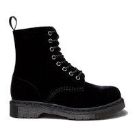 Dr. Martens Page Velvet Boot in Black