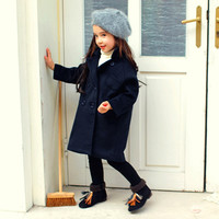 Bambi Fluffy Fleece Lined Loose Fit Coat
