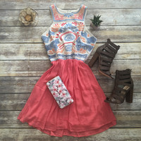 All About the Details Sundress in Coral