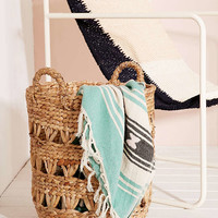Lucy Woven Laundry Basket - Urban Outfitters