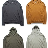 New fashion spring Autumn Kanye West Oversize Mens Hoodies Sweatshirts High Street Hip Hip Male Hoodies