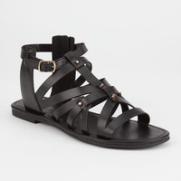 CITY CLASSIFIED Strappy Stud Womens Gladiator Sandals   Sandals