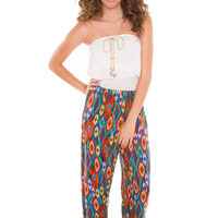 Delicate Palazzo Pants - Teal