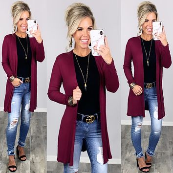 Carefree Days Cardigan - Multiple Colors