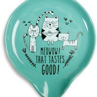 Meowow! That tastes good! Spoon Rest