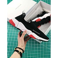Balenciaga Black Low Speed Trainers