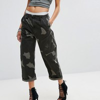 G-Star Camo Print Loose Fit Chino at asos.com