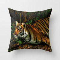Bengal Beauty Throw Pillow by CoSurvivor