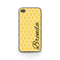 iPhone 6 Case, iPhone 5S/5C Case, Ikat Diamond Pattern, Personalized Phone Case, Custom iPhone Cover, Samsung S5, Blackberry - 0024