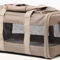 Sherpa The Original Deluxe Pet Carrier Size: Med Gray