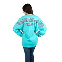Country Club Prep Jersey in Seafoam and Madras by Spirit Jersey