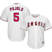 Albert Pujols Los Angeles Angels of Anaheim #5 MLB Youth Cool Base Home Jersey (Youth Large 14/16)