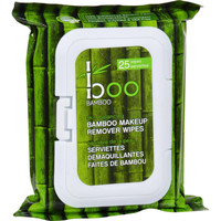 Boo Bamboo Makeup Remover Wipes - 25 Count