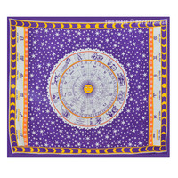 Purple Zodiac Astrology Tapestry Wall Hanging Indian Bedspread Bedding on RoyalFurnish.com