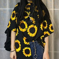 Sunflower Button-Down Shirt