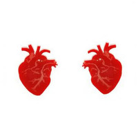 Ventricle Stud Earrings