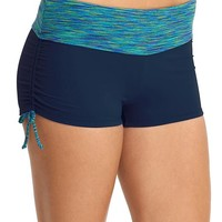 Athleta Womens Paddleout Space Dye Scrunch Short