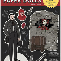 Literary Paper Dolls Book