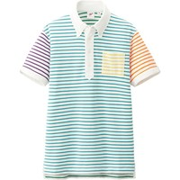 MEN WASHED SHORT SLEEVE POLO SHIRT BY MB   UNIQLO