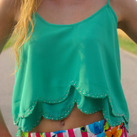 I'm Yours Top: Green