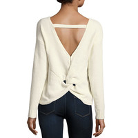 by&by Long Sleeve V Neck Pullover Sweater-Juniors - JCPenney