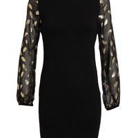DIANE VON FURSTENBERG | Silk Sleeve Knitted Dress | Browns fashion & designer clothes & clothing
