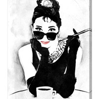 Oliver Gal The Look of a Lady (Canvas)