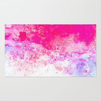 Summer Song #society6 Rug by 83oranges.com