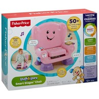 Fisher-Price Laugh & Learn Smart Stages Chair Pink - Walmart.com