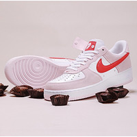 NIke Air Force 1 Low '07 QS Valentine's Day Love Letter Men's and Women's Sneakers Shoes