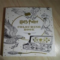 Harry Potter Book 96pages in Total Coloring Books For Adults Kill Time Stress Relieving Antistress Coloring Book Original