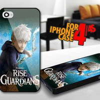 Rise of The Guardians Jack Frost for iPhone 4 / 4s Black case