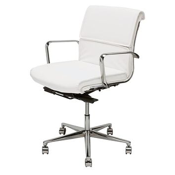 Nuevo Lucia Office Chair - White